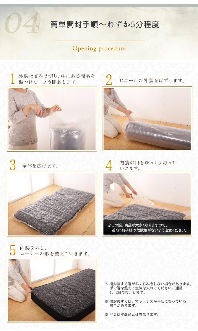 開封は簡単です。衛生真空圧縮パッケージ