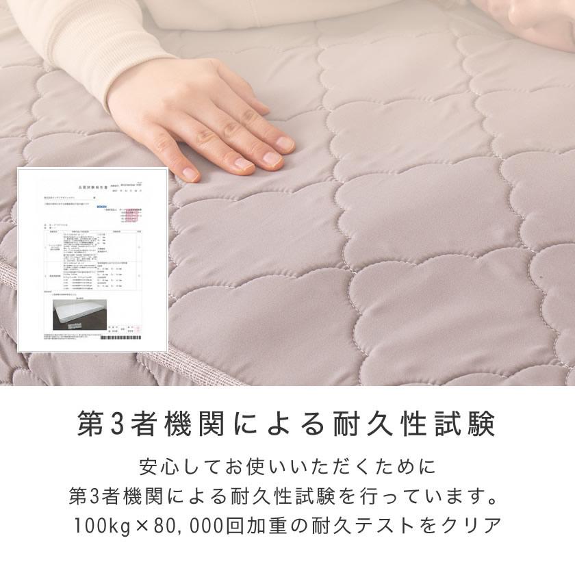 ネルコ 高密度ポケットコイルマットレス シングル 体圧分散  ハードタイプマットレス