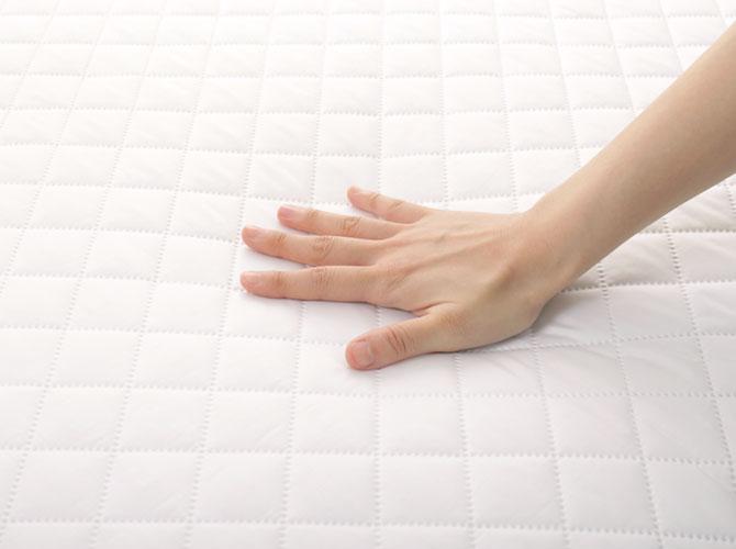 敷き布団 シングルロング 快眠セラピストがおすすめする快眠寝具シリーズ 昭和西川 SNフレッシュ ノンキルト加工 洗える
