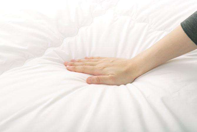 掛け布団 シングルロング 快眠セラピストがおすすめする快眠寝具シリーズ 8ヵ所ループ付き 昭和西川 SNフレッシュ 洗える