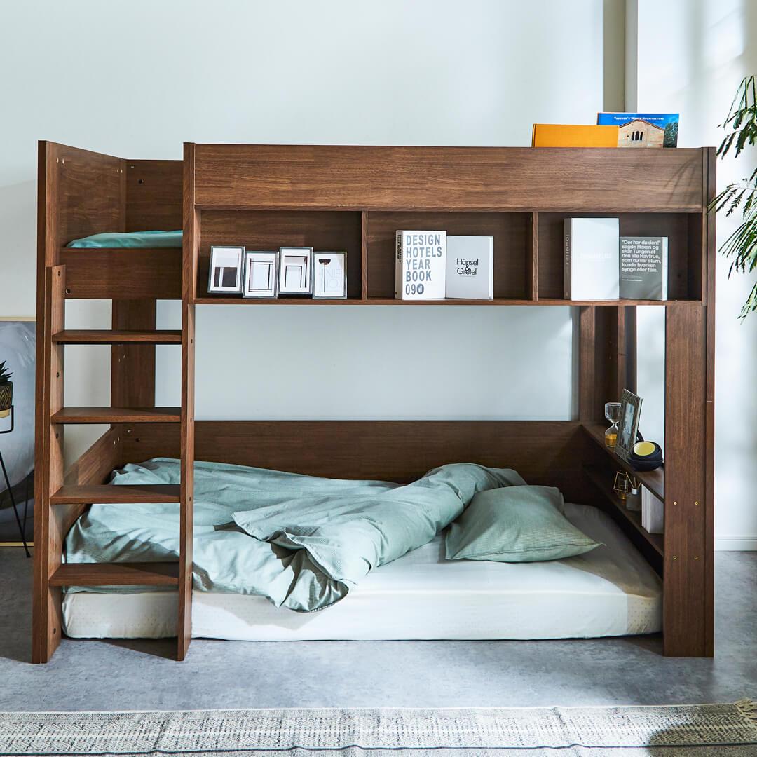 自由に使えるベッド下空間