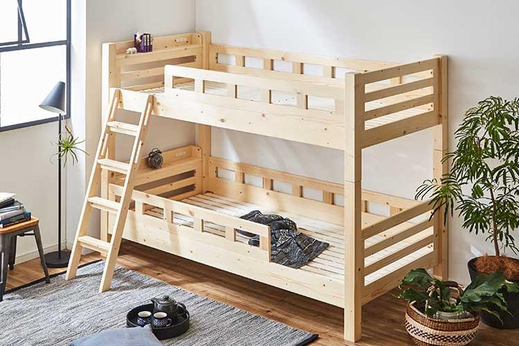 二段ベッドカテゴリ