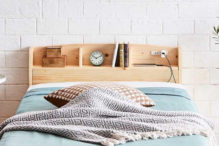 棚付きベッドカテゴリ