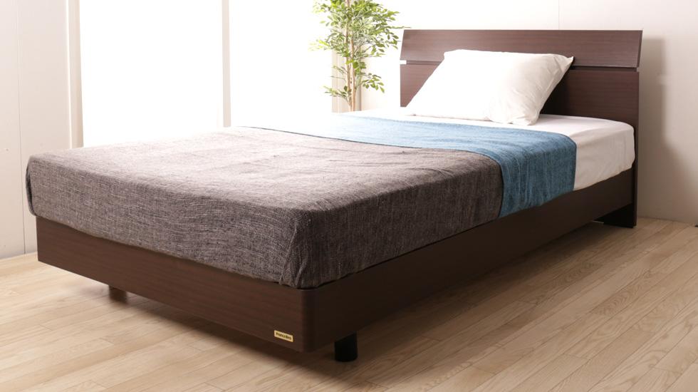 フランスベッド パネル型ベッド ゼルトスプリングマットレス付き