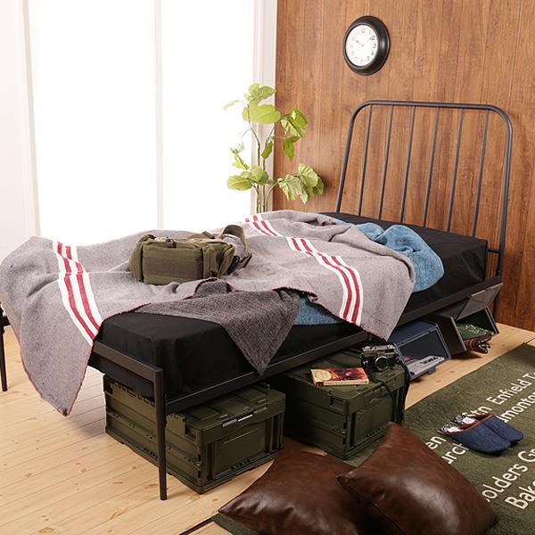 ブルックリンスタイルのベッド