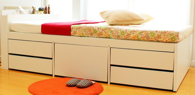 大収納ベッド