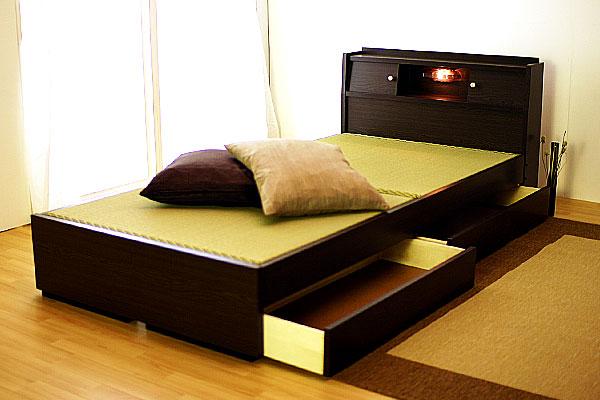 機能充実畳ベッド