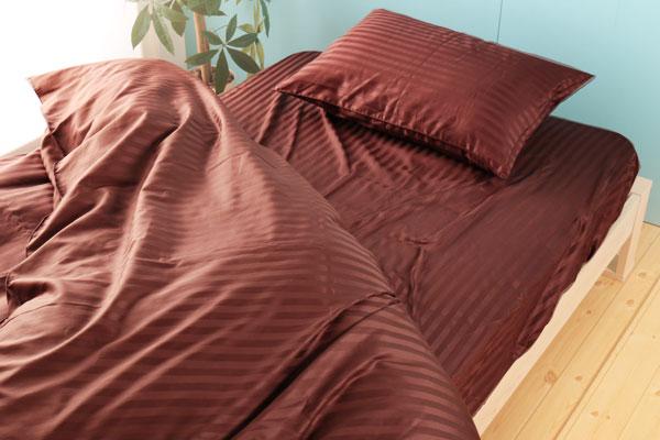ベッド用布団カバー3点セット