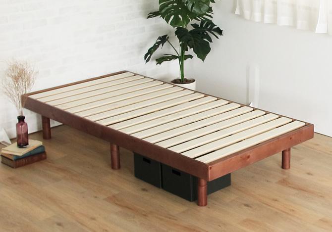 天然木パイン材すのこベッド
