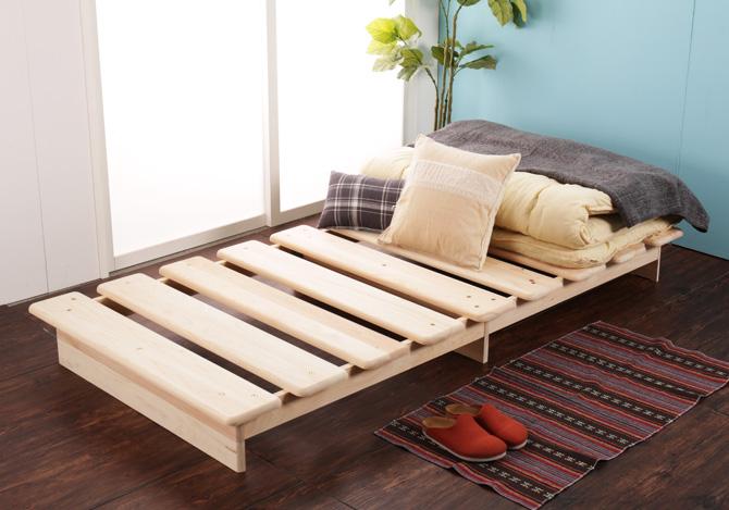 ひのきステージベッド