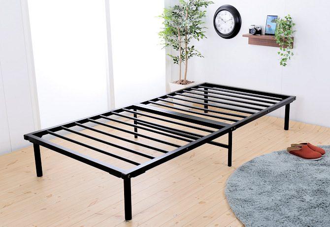 スチールすのこベッド