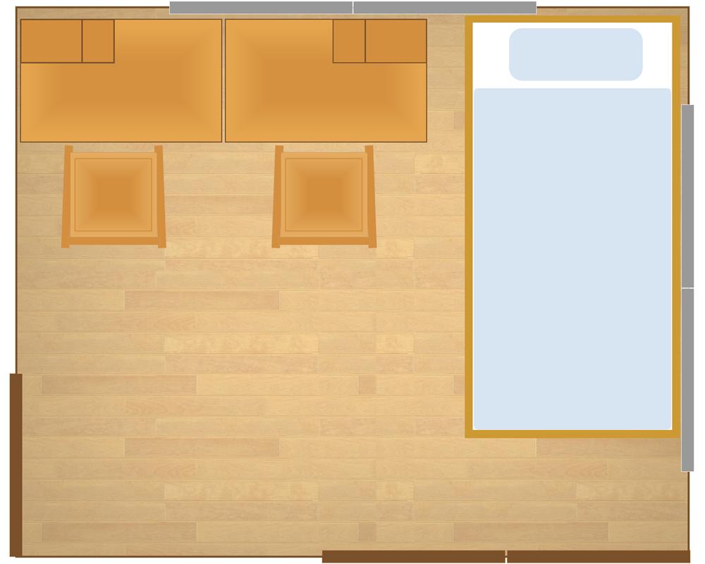 6畳の子供部屋置くなら二段ベッドロフトベッド 眠りの情報発信