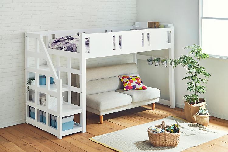 ベッドをお探しの方のために!ロフトベッドによるお部屋活用術を紹介
