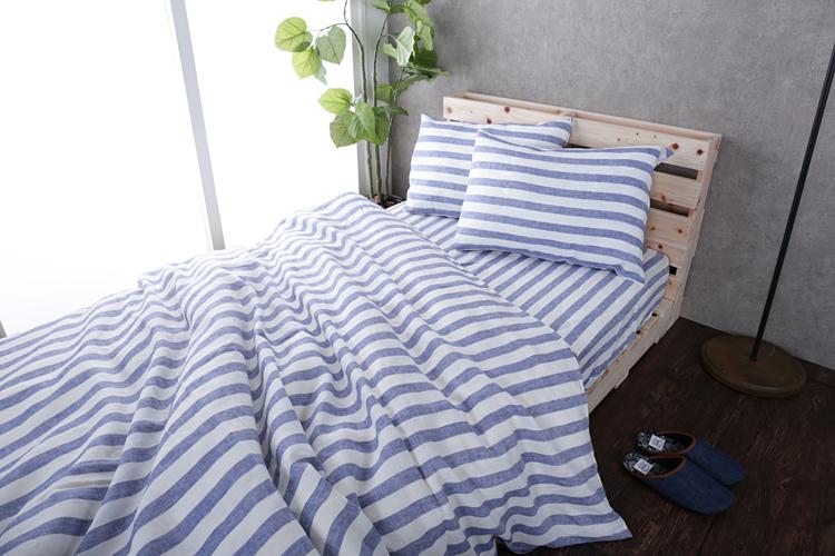 高温多湿な夏はすのこベッド×リネン寝具で乗り切る!