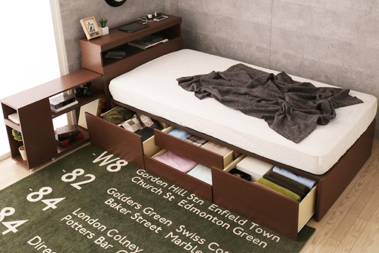 冬に大活躍!収納付きベッドを買う前に知っておきたいポイント
