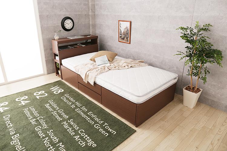 【新商品】ロフトベッドにおすすめ!薄型ポケットコイルマットレス