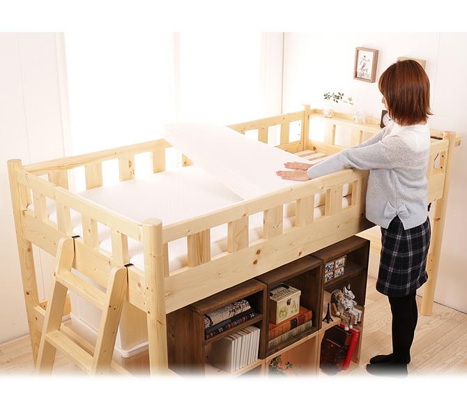 ロフトベッドや二段ベッドにぴったりのマットレス4選!
