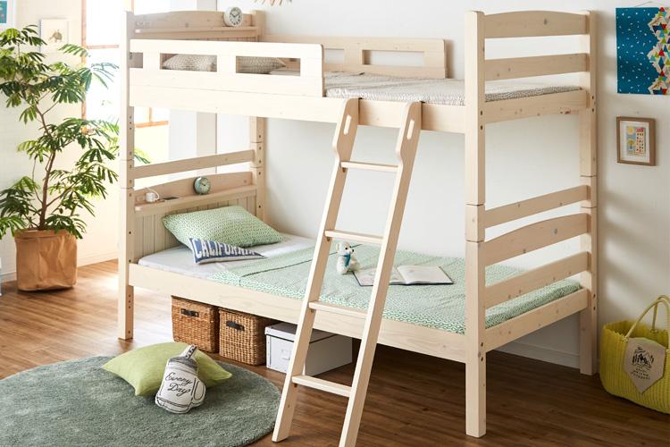 子供から大人まで使える♪二段ベッド人気ランキング~neruco編~