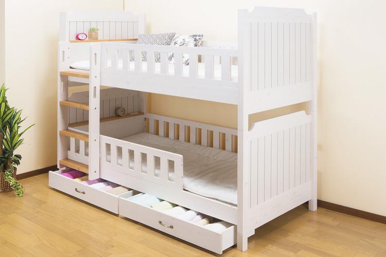 初めてのベッドにおすすめ!子供用の「ロータイプ」二段ベッドランキング