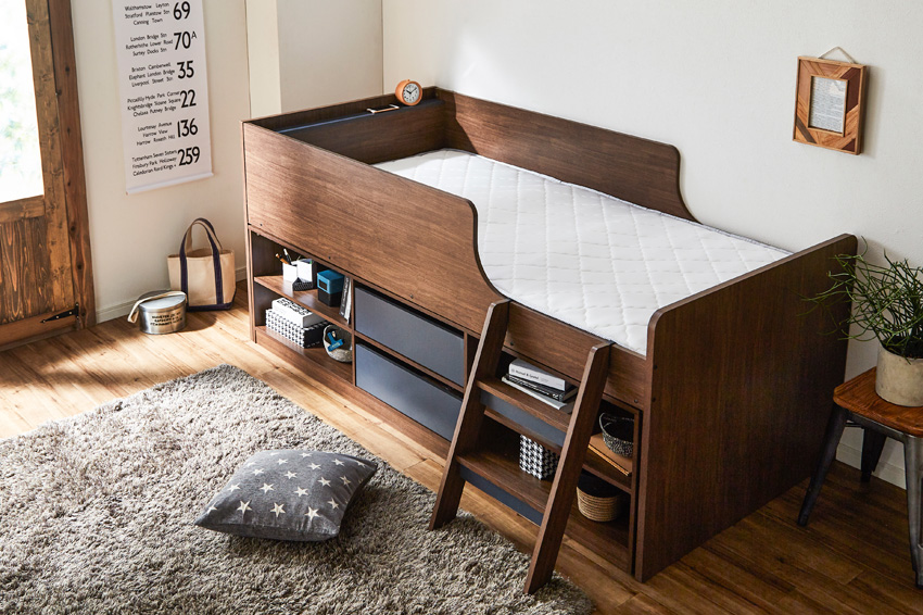 Storage Bed Raum