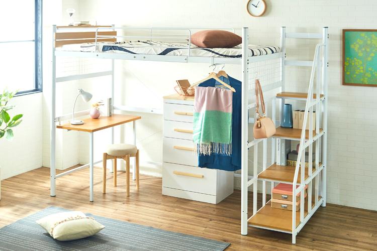 一人暮らしを始める方必見!後悔しないロフトベッドのおすすめの選び方