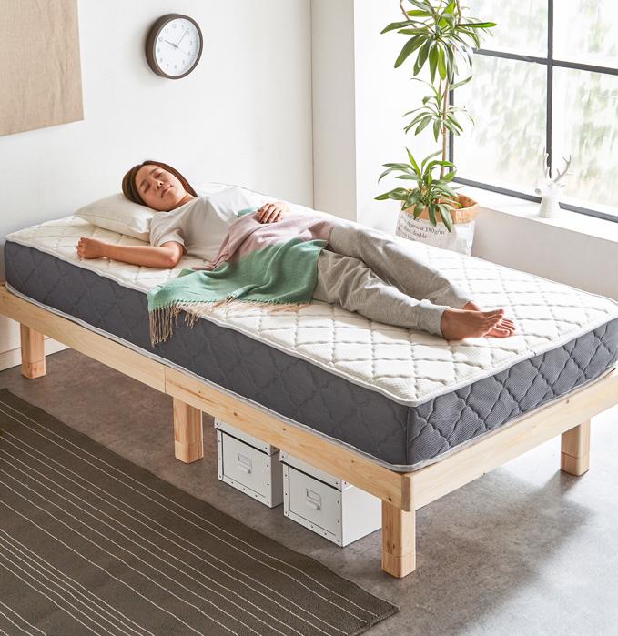 マットレスの理想的な寝姿勢